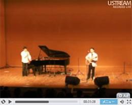 画像:Share with Tour 2010コンサート最終日、インターネットでライブ配信した映像