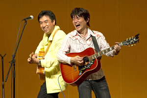 画像:板橋と桜田まことさん